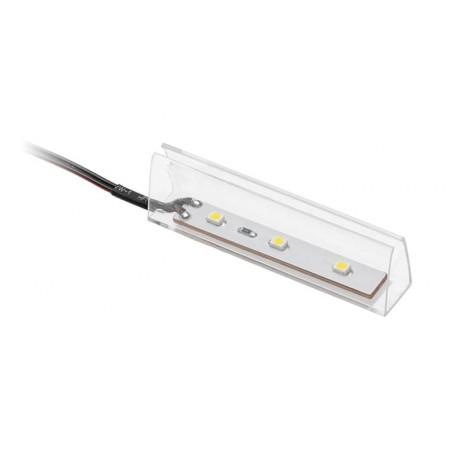 LED klipsas 4-8mm stiklui