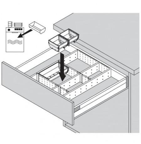 Pertvarėlių sistema Tandembox ORGA-LINE