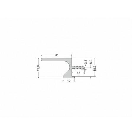 Aliuminio profilis UKW-5